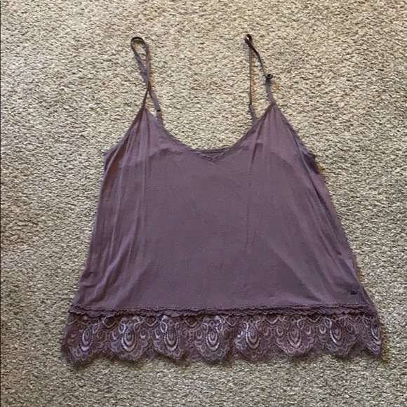 American Eagle Outfitters Tops - Purple soft and sexy tank top